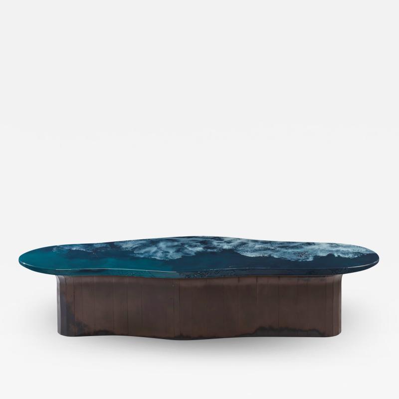 Damien Gernay Amalgame bench low table