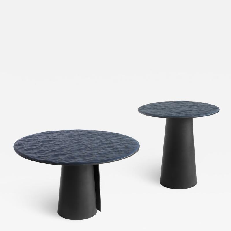Damien Gernay Black sea side tables