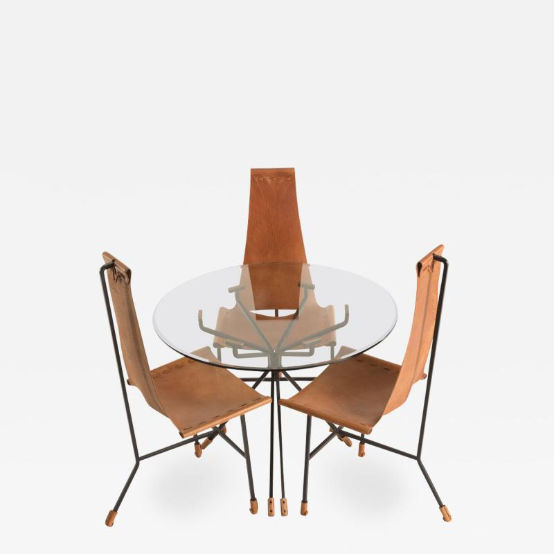 Dan Wenger Dan Wenger Dining Set of Three Chairs and Table