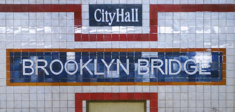 Daniel E Greene City Hall Brooklyn Bridge
