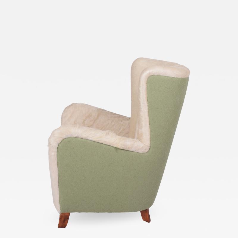 Danish 1940s easy chair