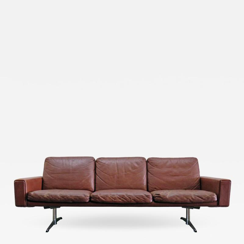 Danish Leather Sofa 1960