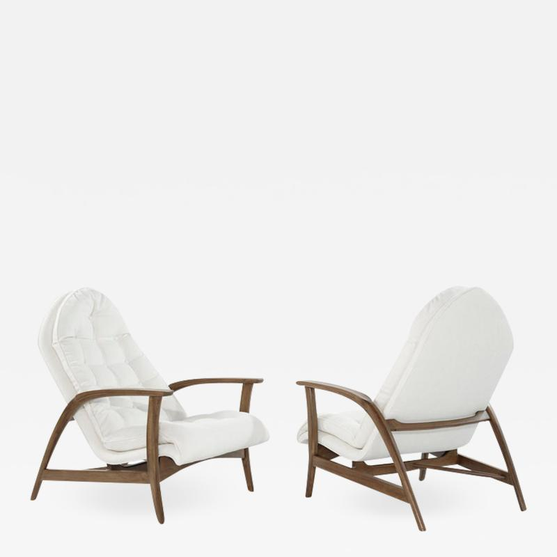 Danish Modern Teak Lounge Chairs