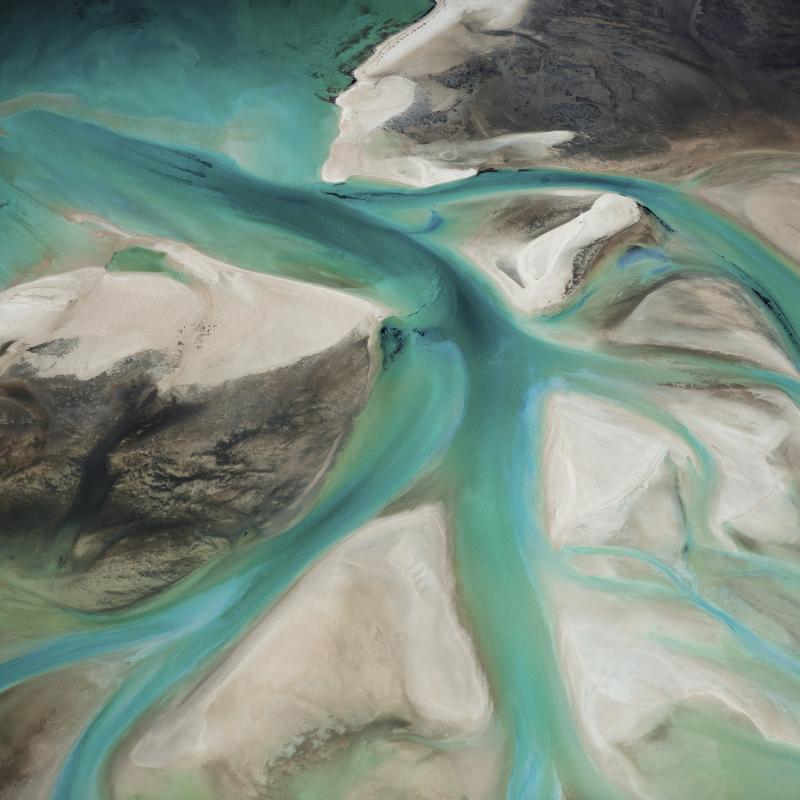 David Burdeny Estuary Shark Bay Western Australia