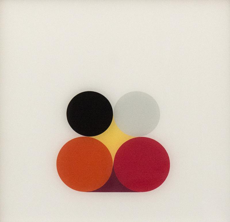 David Cantine Red and Orange 1