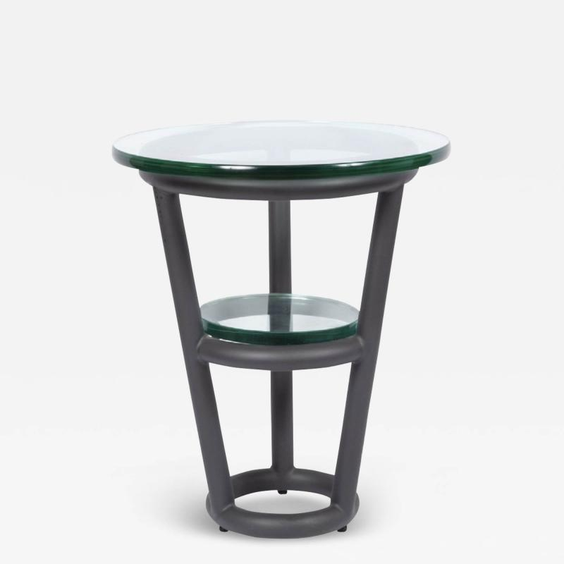 David Ebner David Ebner Tubular Steel Side Table