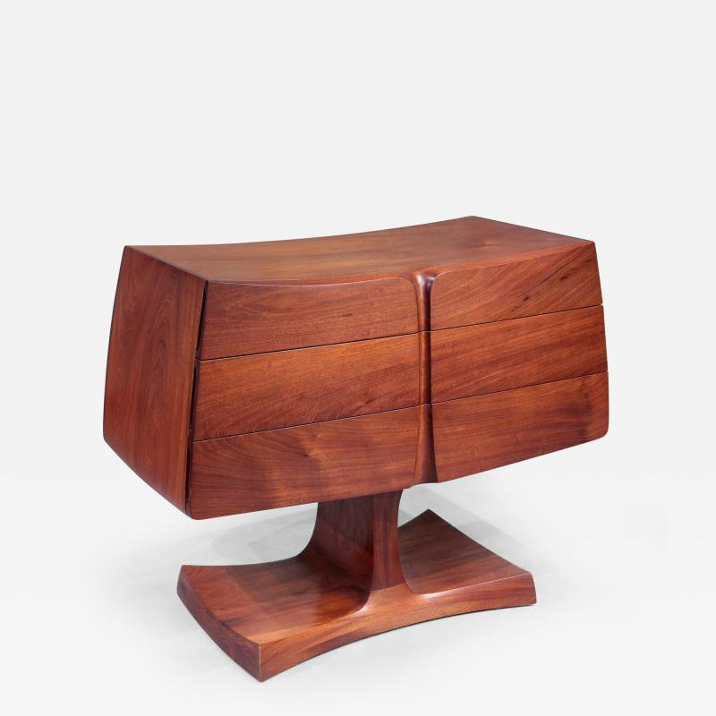 David Ebner Low Chest of Drawers by David Ebner 1982