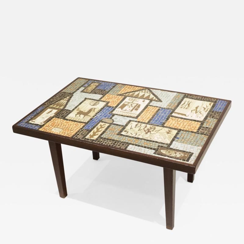 David Holleman David Holleman Ceramic Mosaic Table