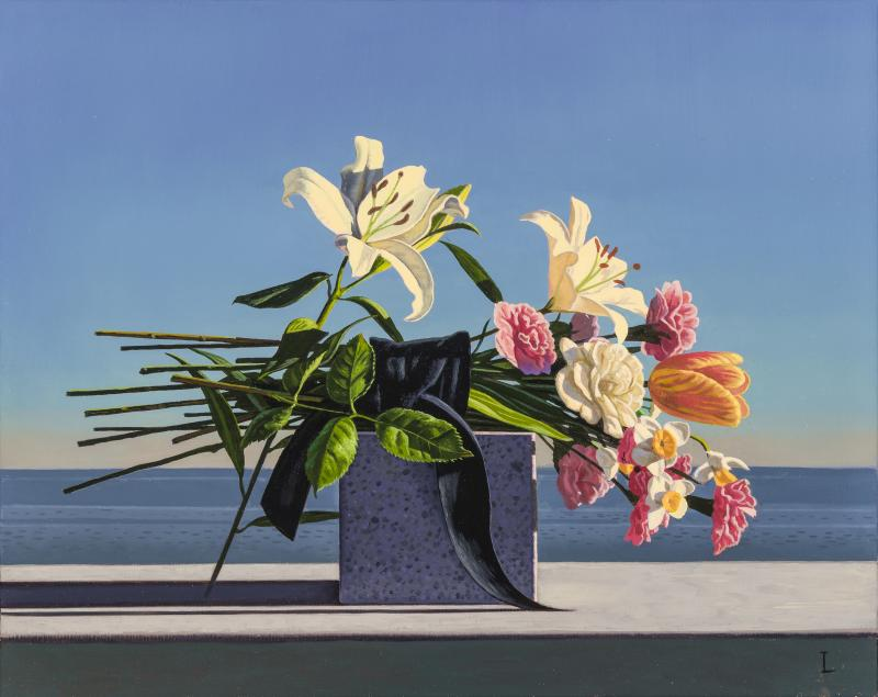 David Ligare Still Life with Flowers Offering