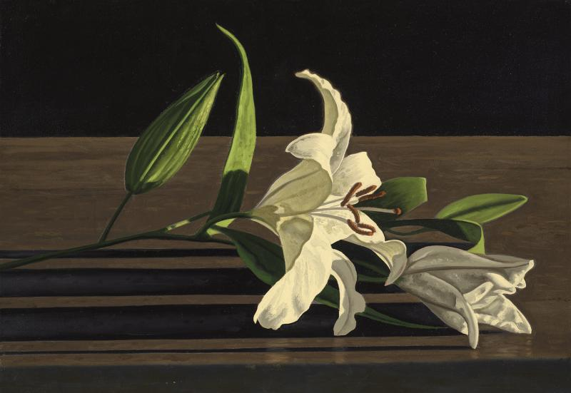 David Ligare Still Life with Lilies