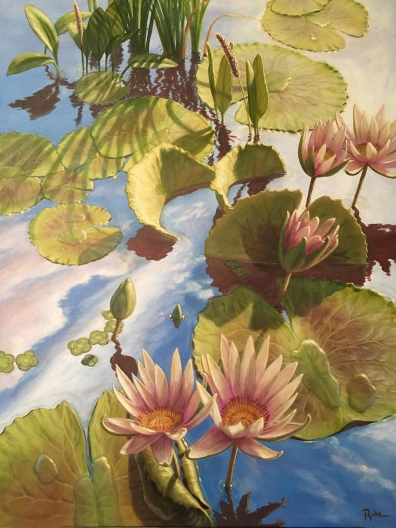 David Ruhe Lilies In The Sky