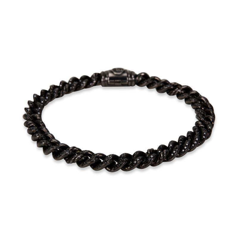 David Yurman Petite Pave Curb Link Men s Bracelet