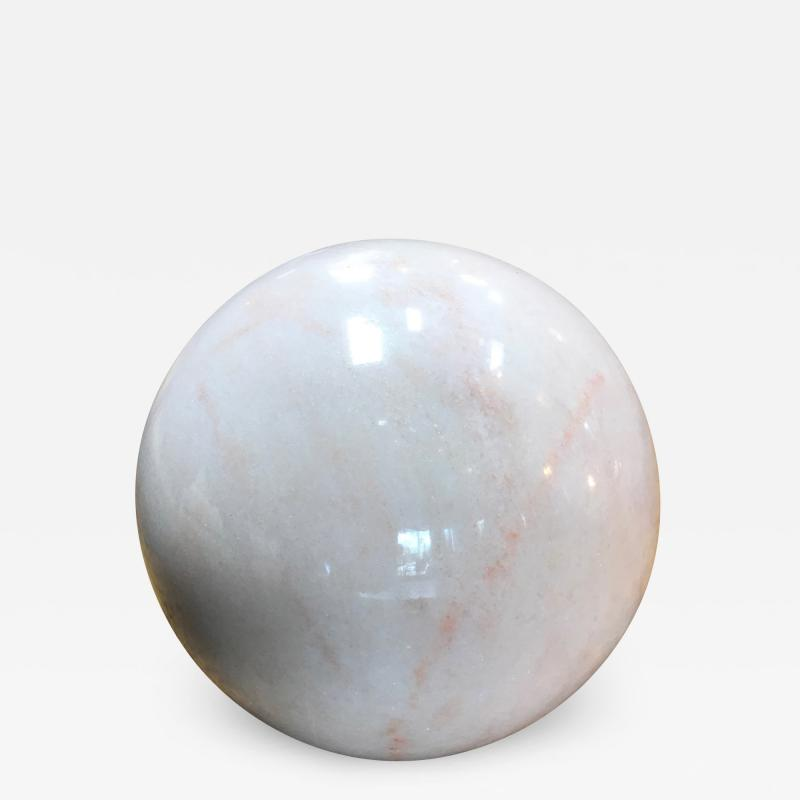 Decorative Carrara Marble Sphere Italy
