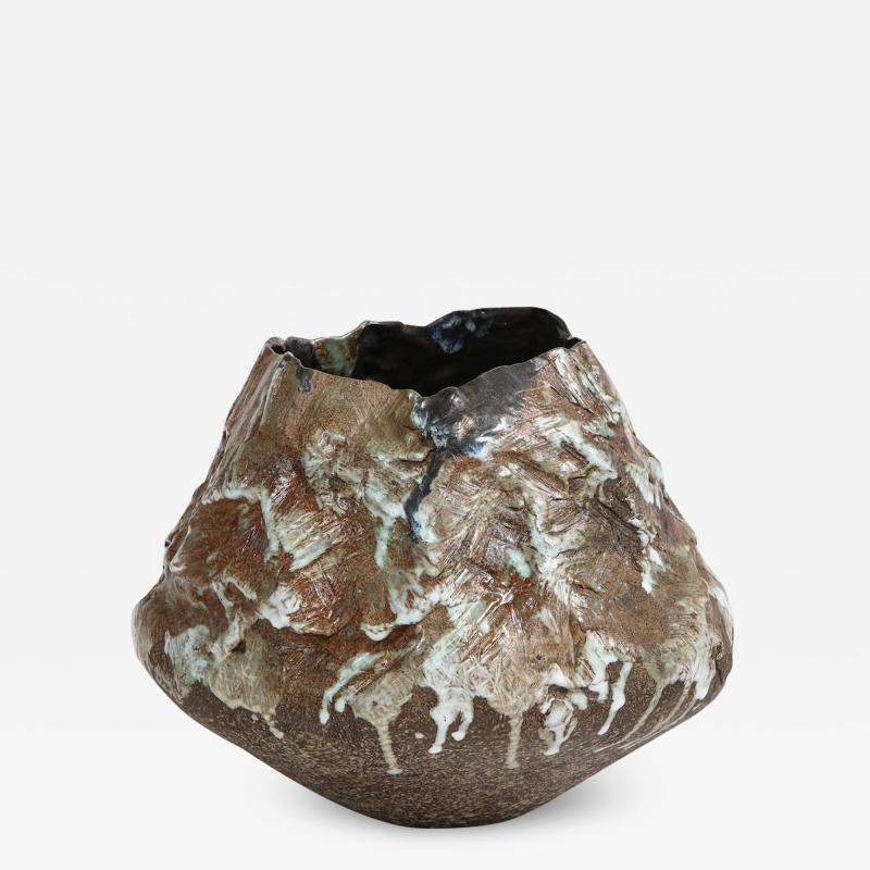 Dena Zemsky Large Sculptural Bowl 2 by Dena Zemsky