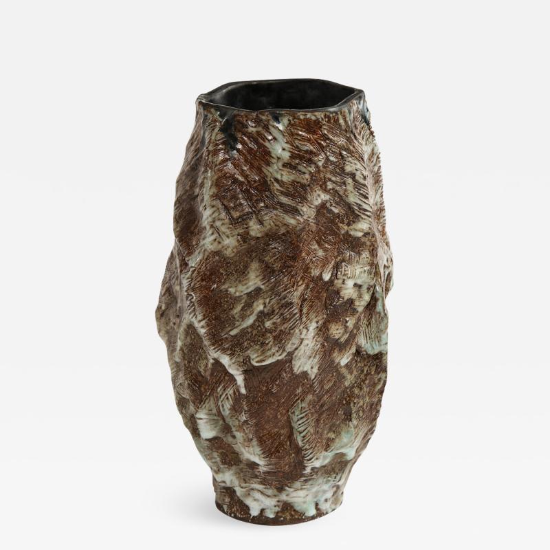 Dena Zemsky Large Sculptural Vase 2 by Dena Zemsky
