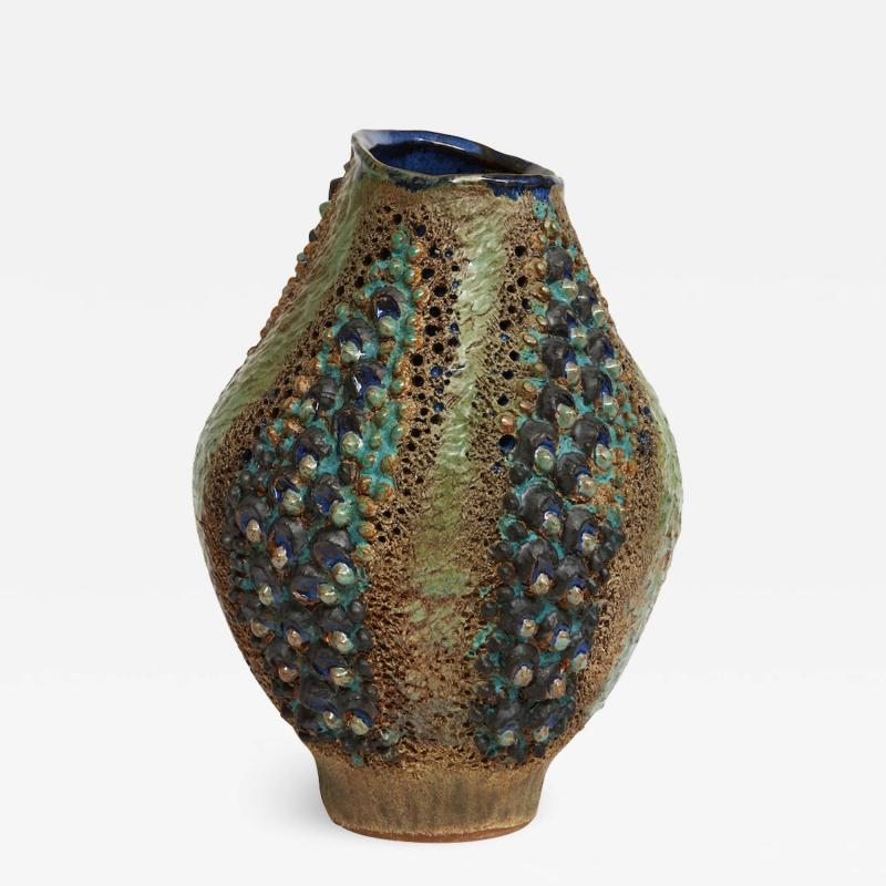 Dena Zemsky Studio Made Ceramic Vase by Dena Zemsky