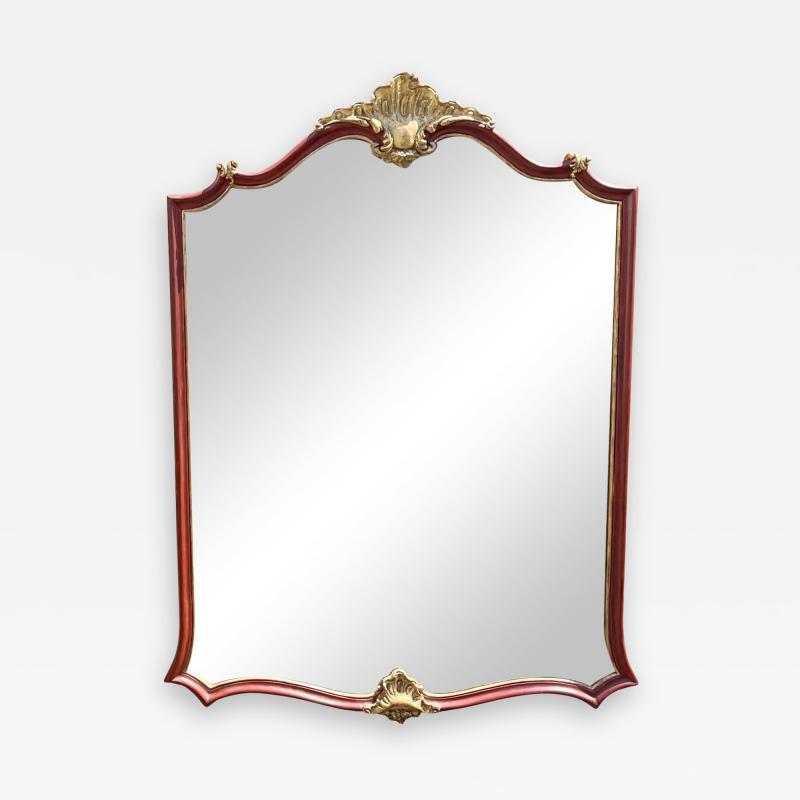 Dennis Leen Dennis Leen Von Howe Louis XV Style Cartouche Mirror