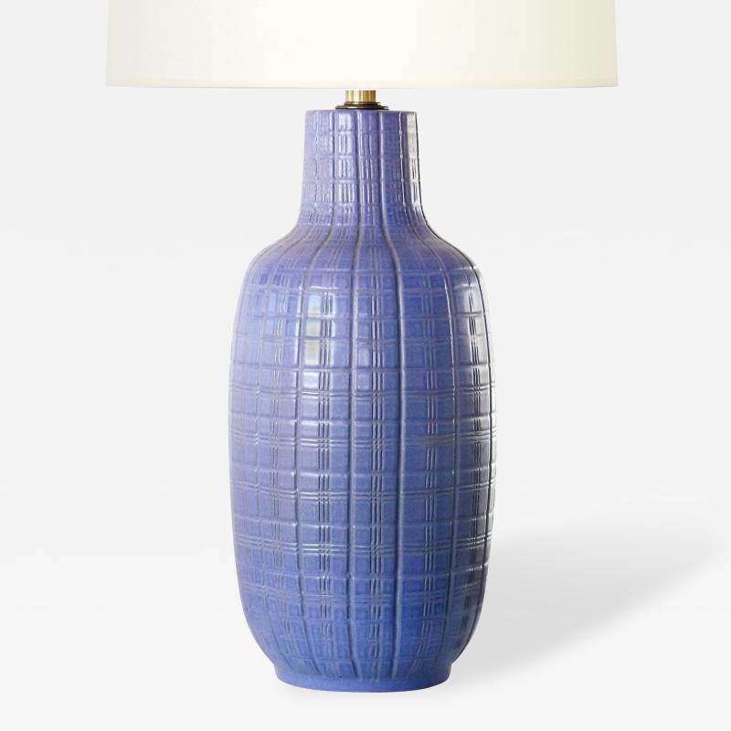 Design Technics Periwinkle Ceramic Table Lamp by Design Technics