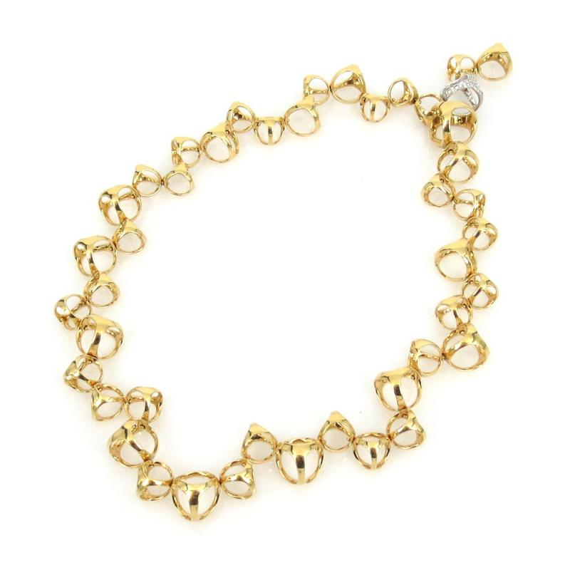 Di Modolo 18KT GOLD AND DIAMOND NECKLACE