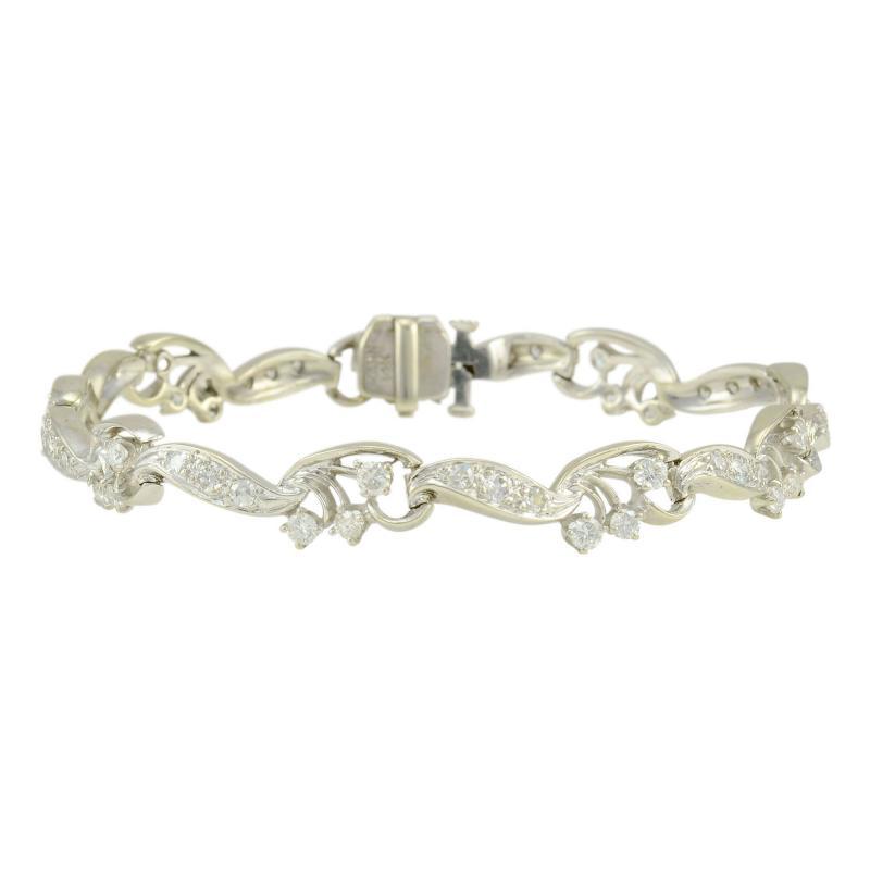 Diamond Bracelet Marked Kahn