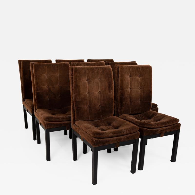 Dillingham Mid Century Upholstered Parsons Dining Chairs Set of 8