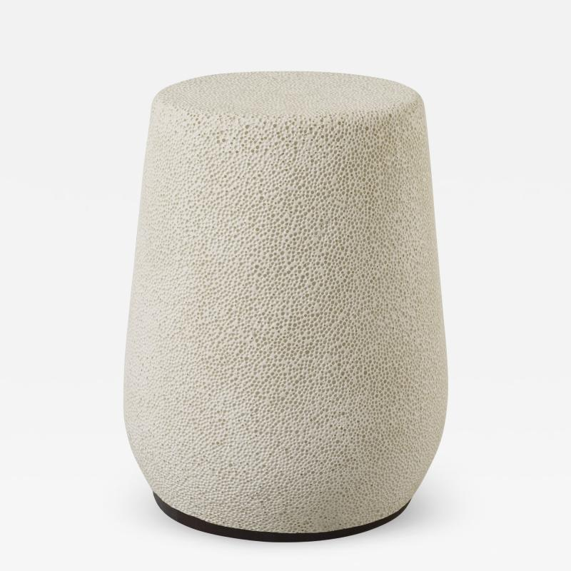 Djim Berger Lightweight Porcelain Stool and Side Table