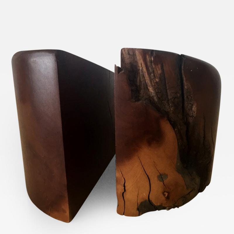 Don S Shoemaker Rosewood Bookends by Don Shoemaker