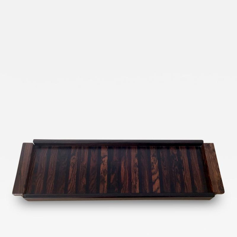 Don Shoemaker A Rosewood Tray by Don Shoemaker