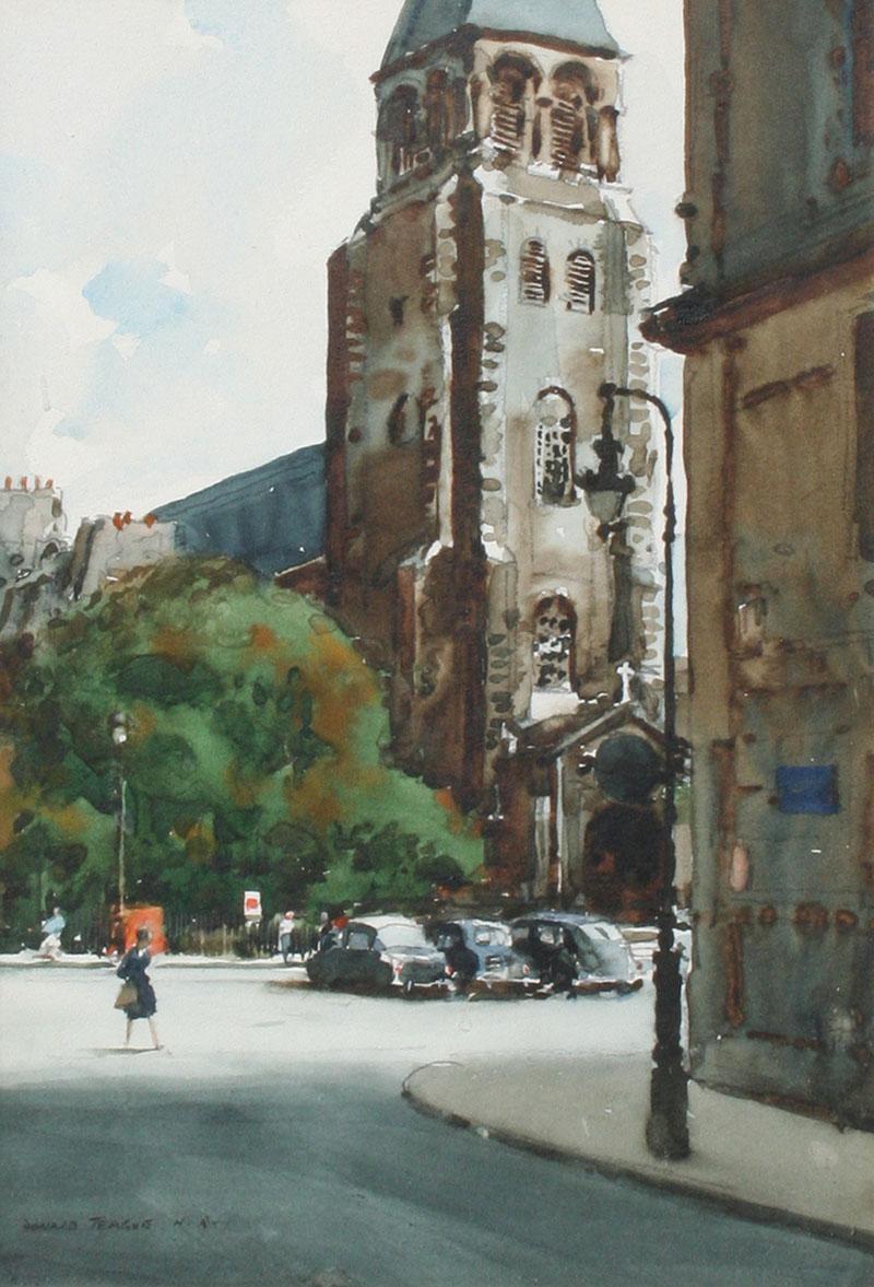 Donald Teague Church of St Germain des Pres Paris