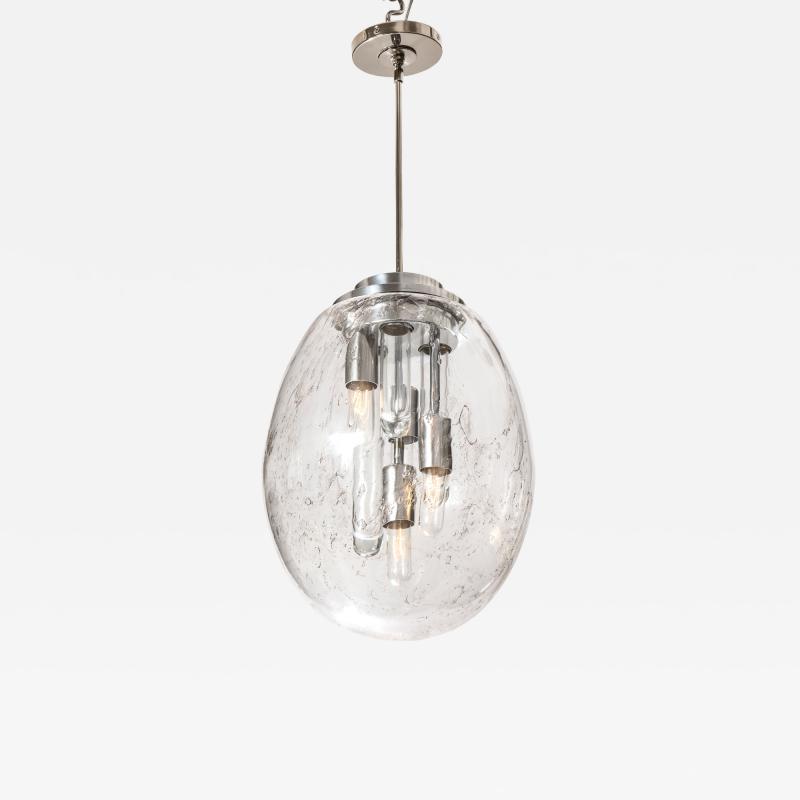 Doria Leuchten Murano Sputnik Pendant Light by Doria