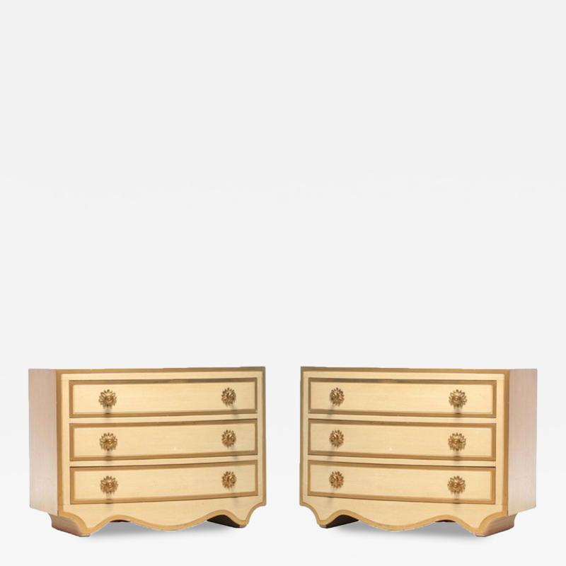 Dorothy Draper PAIR OF DOROTHY DRAPER VIENNESE COLLECTION CHESTS