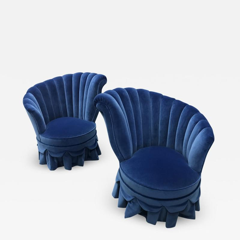 Dorothy Draper Pair of Original 1940s Dorothy Draper Chairs