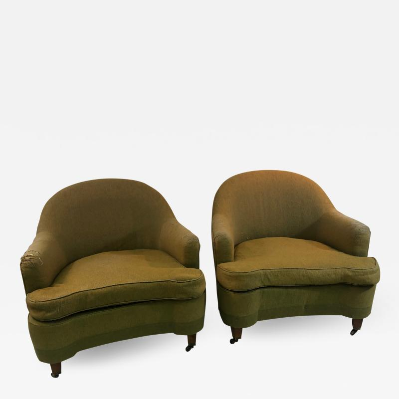 Dorothy Draper Pair of Rare Dorothy Draper Chairs