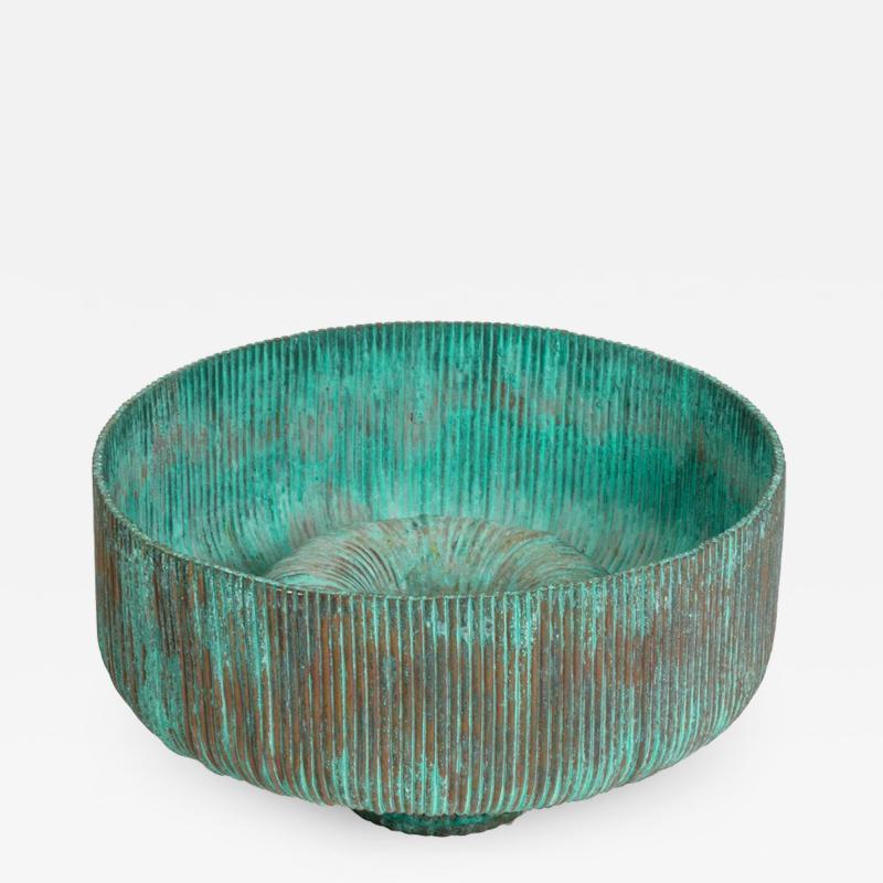 Douglas Ihlenfeld Organic Form Patinated Copper Rod Sculpture