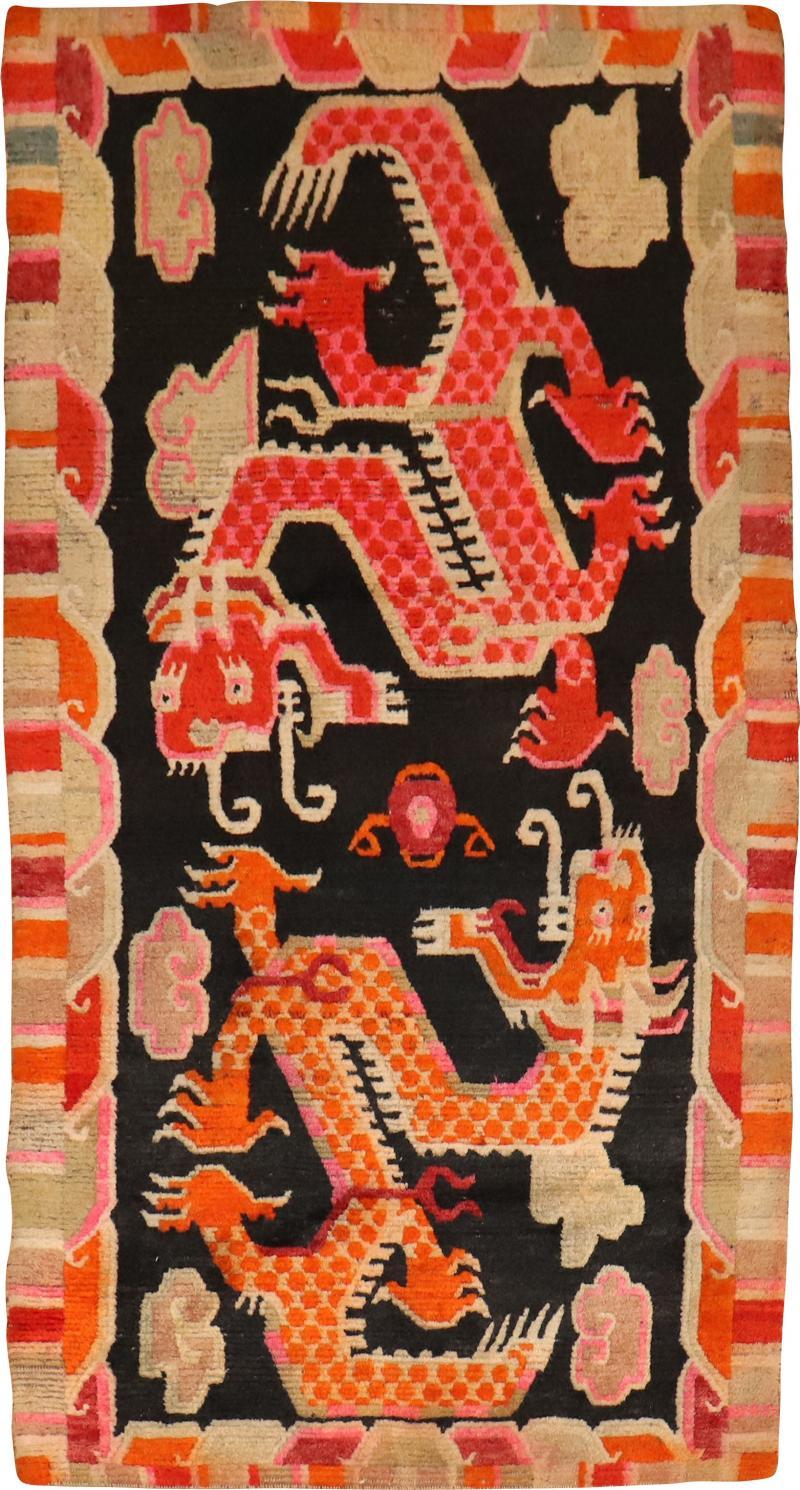 Dragon Tibetan Rug rug no r5236