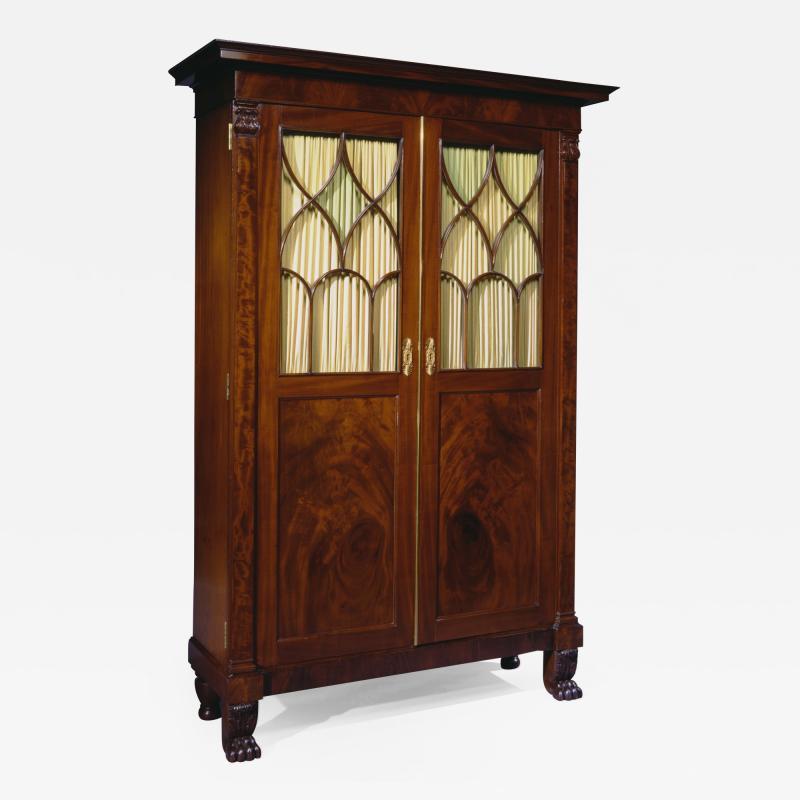 Duncan Phyfe Rare Cabinet form Secretary Bookcase