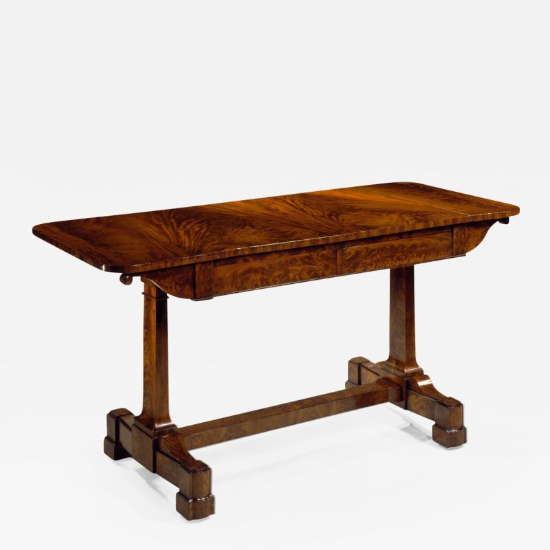Duncan Phyfe Rare Restauration Mahogany Sofa Table
