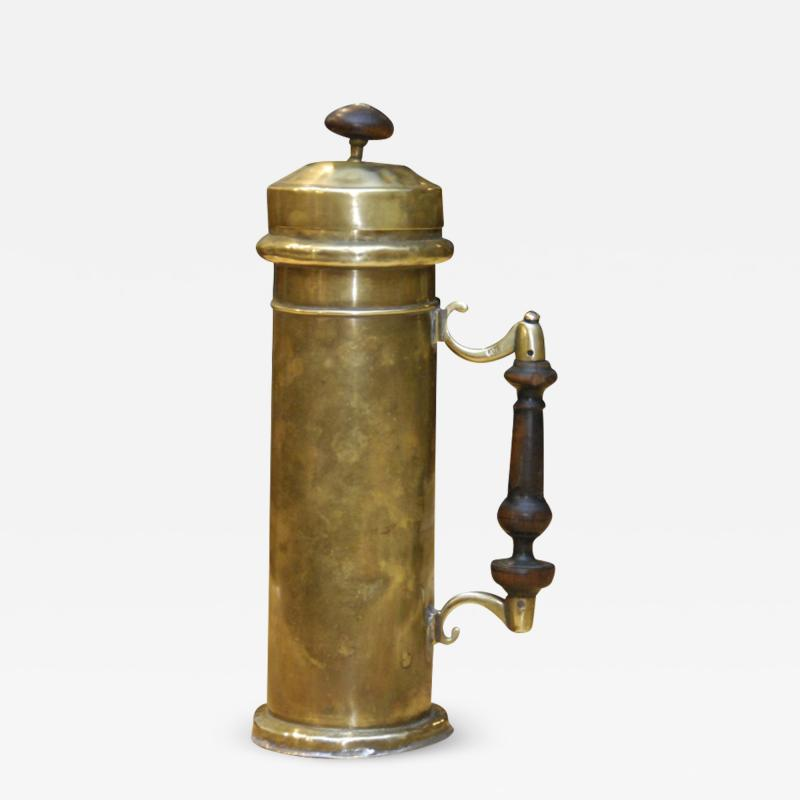 Dutch 18th century Brass Canister