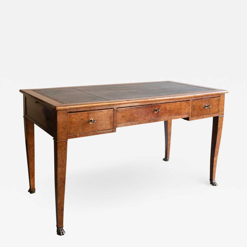 EARLY 19TH CENTURY FRENCH WALNUT DESK