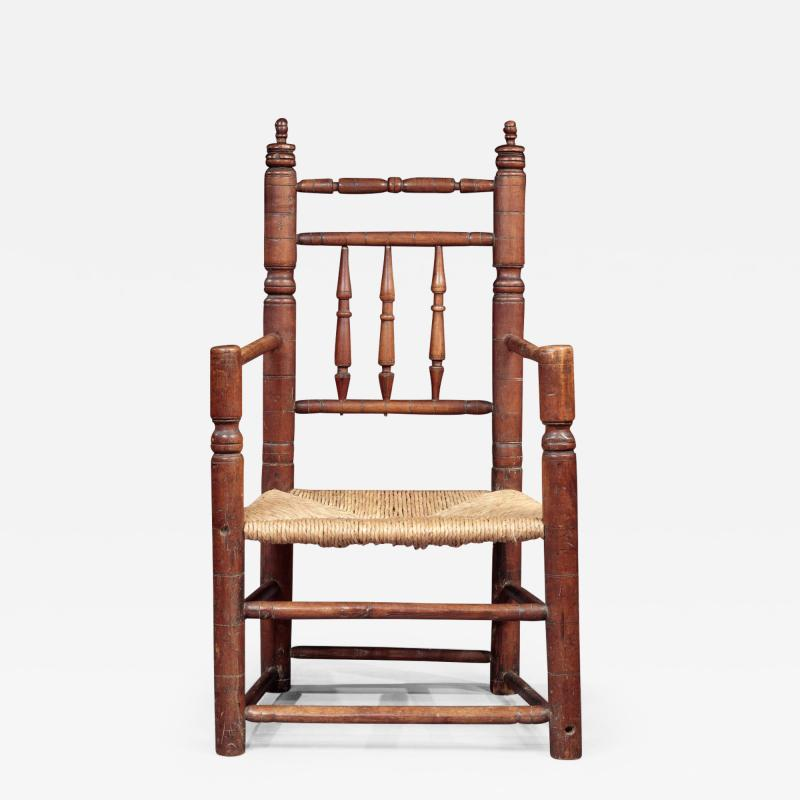 EARLY TURNED GREAT CHAIR