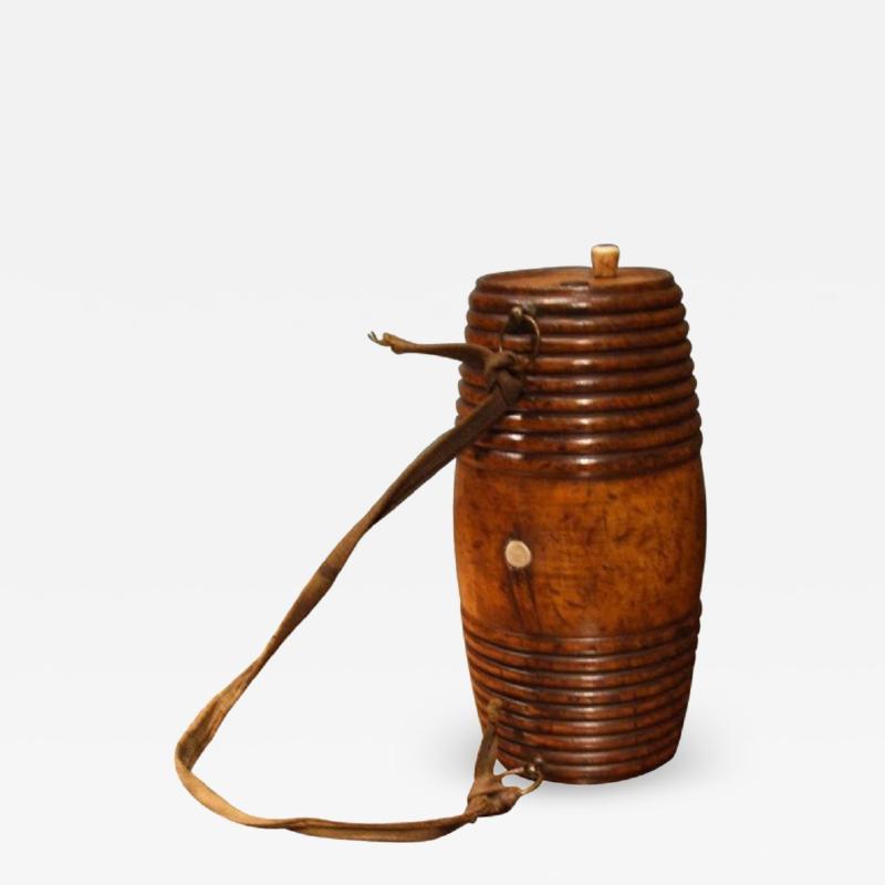 Early 19th Century Swedish Turned Dummy Keg