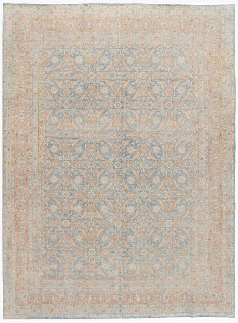Early 20th Century Antique Tabriz Wool Rug