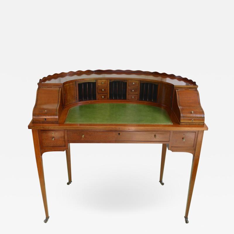 Early Edwardian Carlton House Desk