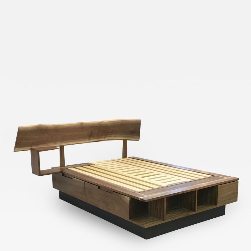 Eben Blaney Custom Queen Bed with Storage