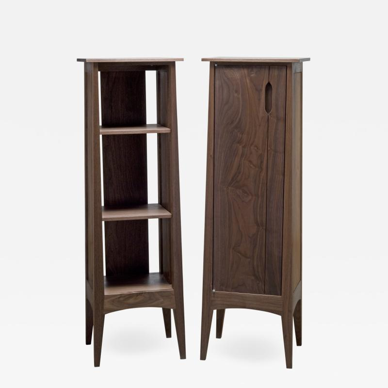 Eben Blaney Tapered Cattail Cabinets