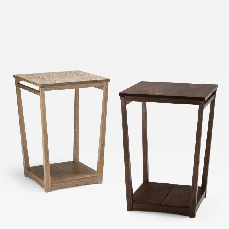 Eben Blaney Tapered Frame Side Tables