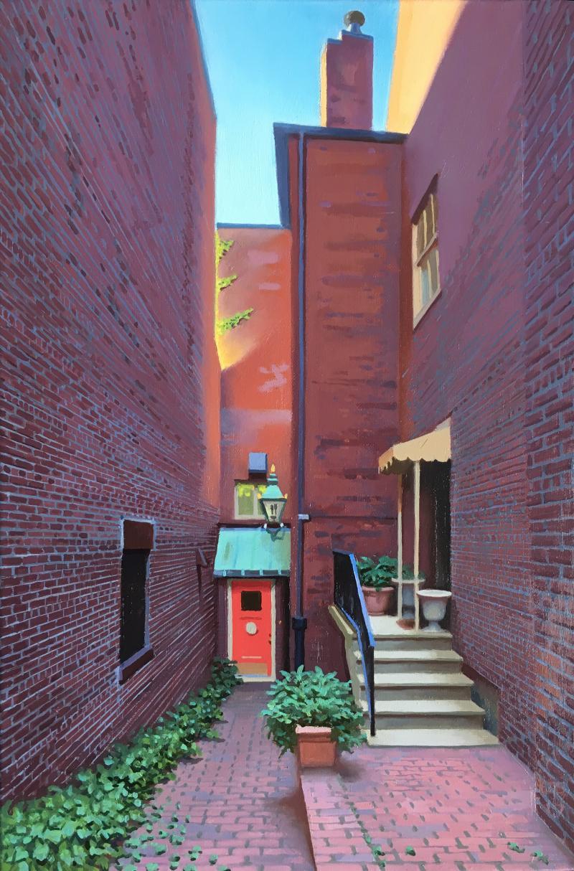 Ed Stitt Beacon Hill Alley Apartment