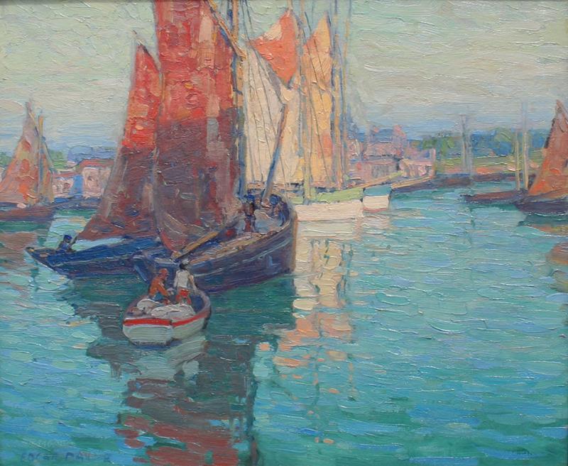 Edgar Alwin Payne Brittany Boats