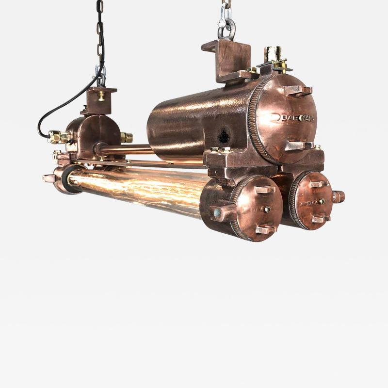 Edison Flameproof Striplight Copper