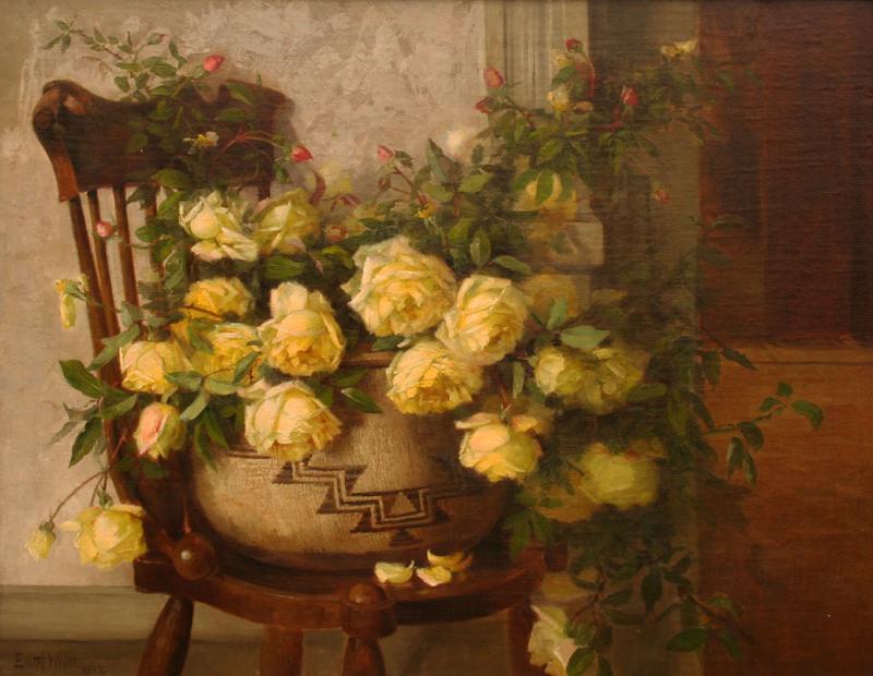 Edith White Still Life of Roses